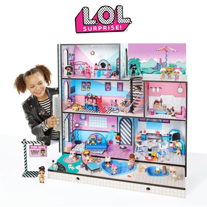 Maison L.O.L. avec 85 surprises